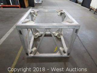 "Rectangular Box Truss with Corner Lifts 30"" x 30"" x 24.5"""
