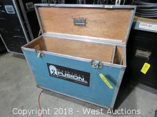 150' WHIRLWIND Medusa 16-Channel/4-Return Snake in Rolling Road Case
