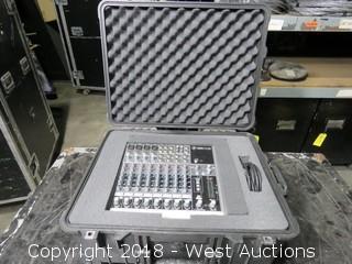 MACKIE 1202-VLZ3 Premium Mic/Line Mixer in Rolling Road Case