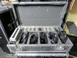 Clear Com. Communication System in Road Case