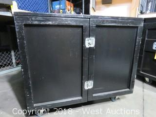 "Rolling Road Case: 45"" WIDE x 23"" DEEP x 39"" HIGH"