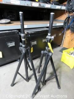 (2) 4' Adjustable Tripods