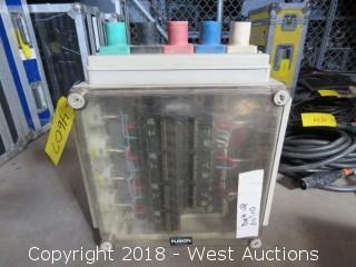 Nutech Industries 100amp/3-Phase Portable Power Distribution Unit