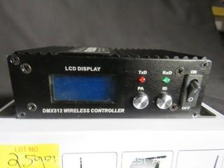 Wireless DMX512 Transmitter/Receiver