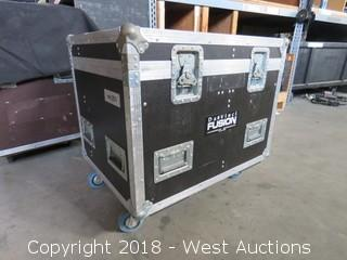 "Rolling Road Case: 23"" WIDE x 31"" LONG x 28"" HIGH"