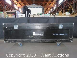 "Portable Road Case 75"" x 22"" x 21"""