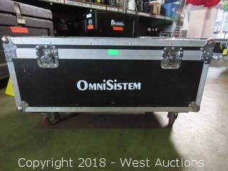 "OmniSistem Portable Road Case 39"" x 19"" x 15"""
