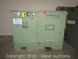 Sullair 30 HP Rotary Screw Air Compressor
