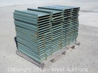 Pallet with Pallet Rack Decking