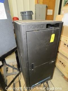 Electronic Rack Cabinet with Components