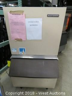 Scotsman CM250 Ice Machine with Bin