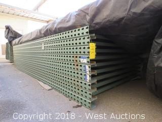 (9) 11' Pallet Rack Uprights