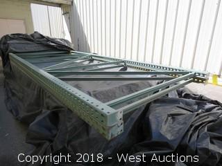 (2) 13' Pallet Rack Uprights