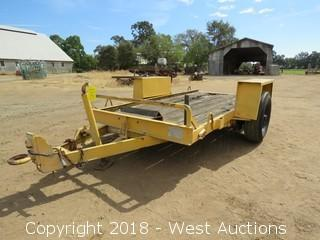 1984 Eager 5'x10' Single Axle Trailer