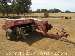 1984 New Holland 505 Hayliner Commercial Small Square Baler