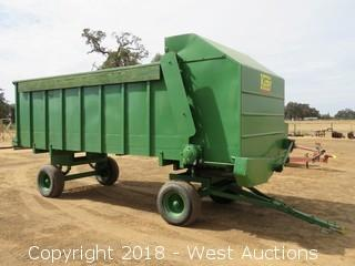 18'x7' Kirby Feed Wagon