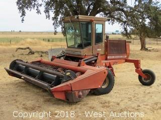 Massey Ferguson 885 Self Propelled Draper Swather