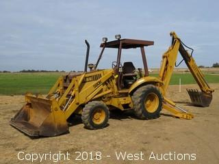 Case 580K Backhoe Loader 4x4 Extend-A-Hoe
