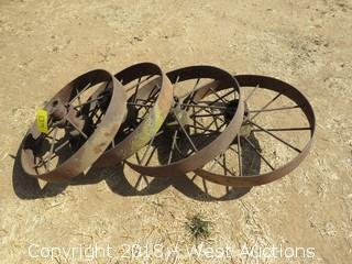 """(4) Vintage 26"""" Wheels"""