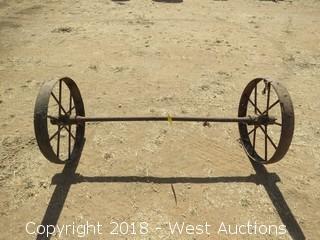 Vintage Axle