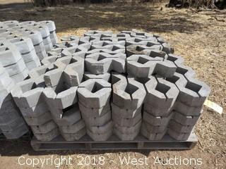Pallet of (30+) Various Sized Decorative Stone Pieces
