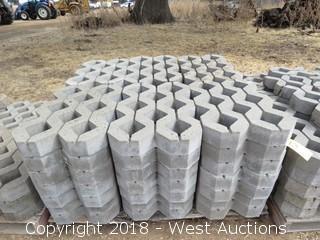Pallet of (42) Decorative Stone Pieces