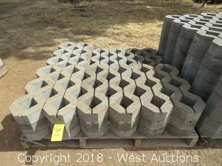 "Pallet of (16) 23.5""x16"" Decorative Stone Pieces"