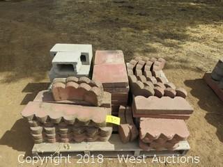 Pallet of (30+) Decorative Stone Pieces