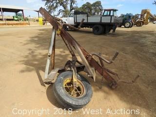Custom Mounted Hay Rake