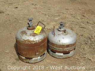 (2) Propane Tanks