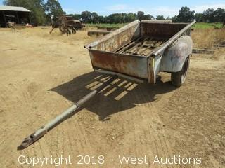 """60""""x80"""" Trailer with Chevrolet Bed"""