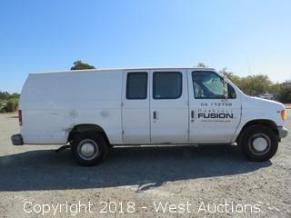 2002 Ford E-350 Utility Van