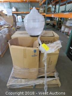 (4) Commercial Plastic Lamp Bulbs