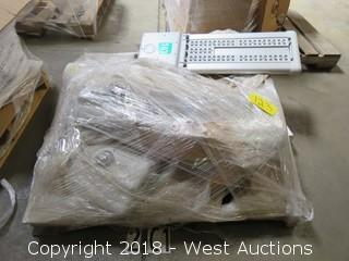 (5) LED Commercial Parking Lot Lamps (Used)