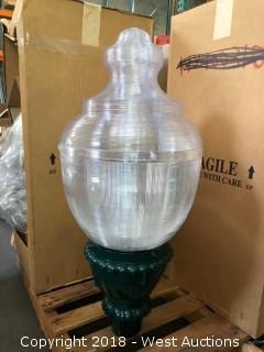 (2) Decorative Fixture HPS Holophane 70W Light