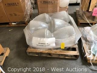 (6) Acrylic Lantern Globes