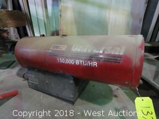 Universal 150000 BTU /HR Propane Heater