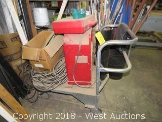 Lincoln Arc Welder W/ Cart