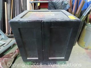 Welding Cabinet with Welding Supplies