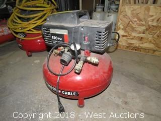 Porter Cable Pancake Electric Air Compressor