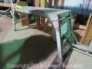 Aluminum Work Stool/Platform