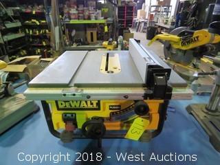 Dewalt DW745 Contractor Table Saw