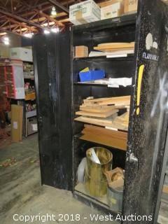 """Steel 2 Door Cabinet 3'x18""""x78"""""""