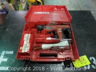 Hilti DX35 Powder Actuated Nailer in Case
