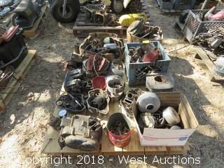 Pallet Of Assorted Motorcycle Parts