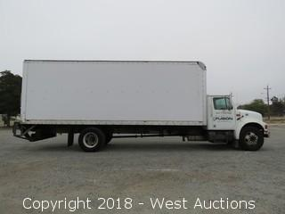 2001 International 24' Diesel Box Truck