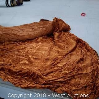 (3) Cooper Crushed Velvet