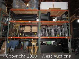 (2) Sections of 12' Pallet Racking (Rack Only)