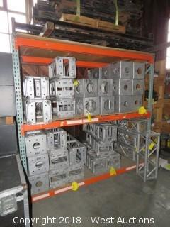 (1) Section of 8' Pallet Racking (Rack Only)