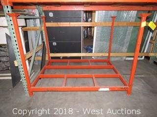 (1) 5'x4'x4' Portable Stack Rack
